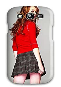S3 Scratch-proof Protection Case Cover For Galaxy/ Hot Lindsay Lohan Mini Skirt Phone Case