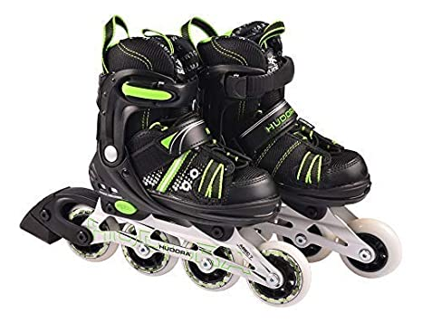 HUDORA Kinder Inliner RX-2 Inlineskates Rollschuhe Skates verstellbar Gr. 29-40, Größe:33-36