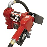Fill-Rite FR610GA 115V AC Pump, Steel Suction Pipe, 3/4''x12' Hose, Automatic Nozzle (Up to 12 GPM)