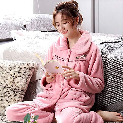 Para Polar Baijuxing Juegos Y Home Cálido 2 Casual Franela Service De Forro Mujer Deportes Xxl Pijama Dormir Suave Pantalones 0qtBwrq