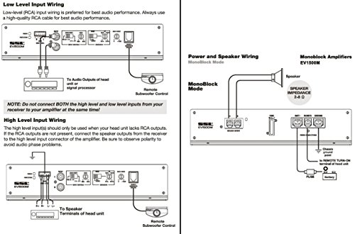 Sound Storm EV1500M Evolution 1500 Watt, 2 Ohm Stable Class A/B, Monoblock, MOSFET Car Amplifier with Remote Subwoofer Control by Sound Storm Laboratories (Image #5)'