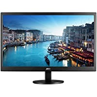 AOC e2470swhe 24-Inch Class LED-Lit Monitor, Full HD 1080p, 5ms, 20M:1 DCR, VGA/HDMI, VESA, Narrow Bezel