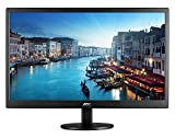 "AOC e2470swhe 24"" Class 1080p Everyday LED Monitor, Narrow Bezel, 5ms, VGA, (2) HDMI, VESA"
