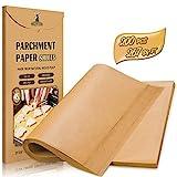 Hiware 200-Piece Parchment Paper Baking Sheets 12 x