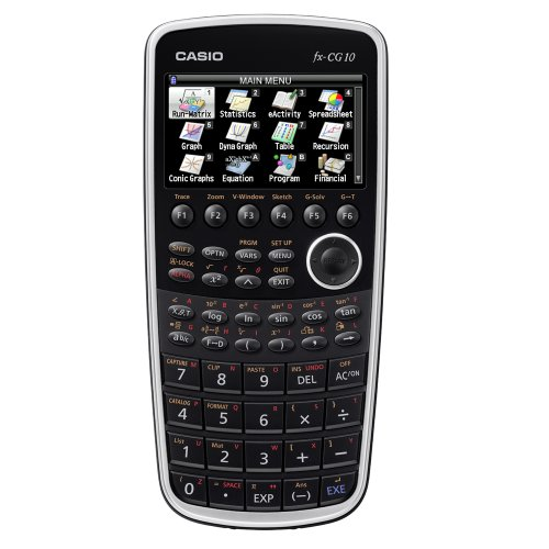 Casio FX-CG10 PRIZM Color Graphing Calculator (Black) by Casio