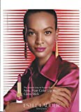 **PRINT AD** With Liya Kebede For Lauder Lip Vinyl Products **PRINT AD**