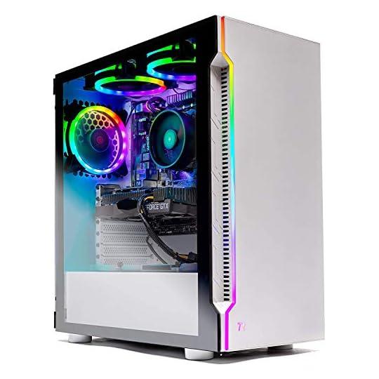 SkyTech Archangel 3.0 Gaming Computer PC Desktop – Ryzen 5 3600 6-Core 3.6GHz, GTX 1650 Super 4G, 500GB SSD, 16GB DDR4…