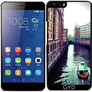 Funda para Huawei Honor 6 Plus - Hamburgo O Venecia? by Christine aka stine1