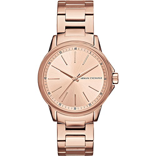 Armani Exchange Women's AX4347 Rose Gold Watch (Armani Exchange Women Watches)