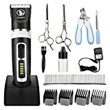 Best Dog Clippers Sets - Ceenwes Dog Clippers Heavy Duty Low Noise Rechargeable Review