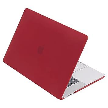 Mate carcasa rígida para nuevo MacBook Pro Retina de 15 (a1707), lention Cubierta de plástico transparente y carcasa para Mac libro portátil, funda de ...