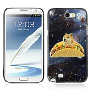 Designer Depo Hard Protection Case for Samsung Galaxy Note 2 N7100 / Taco Dog Meme