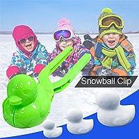 HuntGold 1pc Cartoon Duck Snowball Clip Snow Ball Maker Sand Mold Tool Winter Cute Children Toy For Outdoor Sports Beach