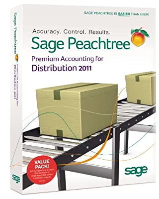 Sage Peachtree Premium Accounting For Distribution 2011 Multi User [OLD VERSION]