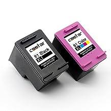 CSSTAR Remanufactured Ink Cartridge Replacement for HP 61 XL 61XL Combo Pack for OfficeJet 4630 4635 Envy 5530 4500 4502 DeskJet 2540 3050 3510 3512 1000 1512 1513 2050 2542 3000 Printer - Black & Color
