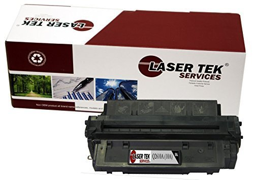 Laser Tek Services ® Compatible Toner Cartridge for the HP Q2610A 10A LaserJet 2300 2300d 2300dn 2300dtn 2300L 2300n 2300 Series 6000 Page Yield