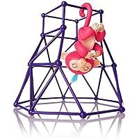 Interactive Baby Monkey Playset, Baby Monkey Jungle Gym...