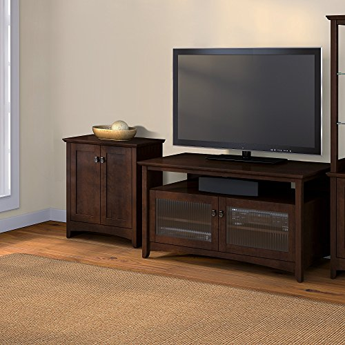 Buena Vista TV Stand with Low Storage Cabinet Bush Furniture Tv Stand