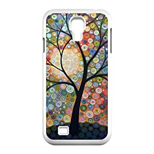 Custom Colorful Case for SamSung Galaxy S4 I9500, Abstract Painting Cover Case - HL-R640132