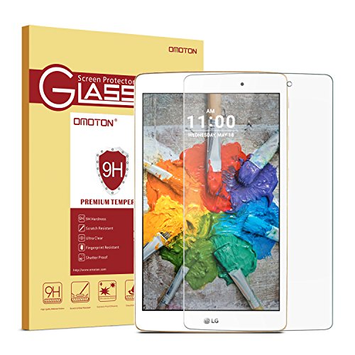 OMOTON Glass Screen Protector Scratch Resistant