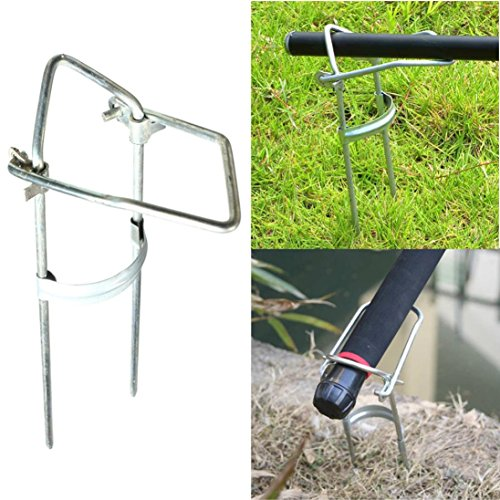 DZT1968 Adjustable Bracket Fishing Rod Pole Stand Holder Fishing Tool