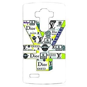 Famous Logo Gather Creative Hard Plastic Phone Case for LG G4