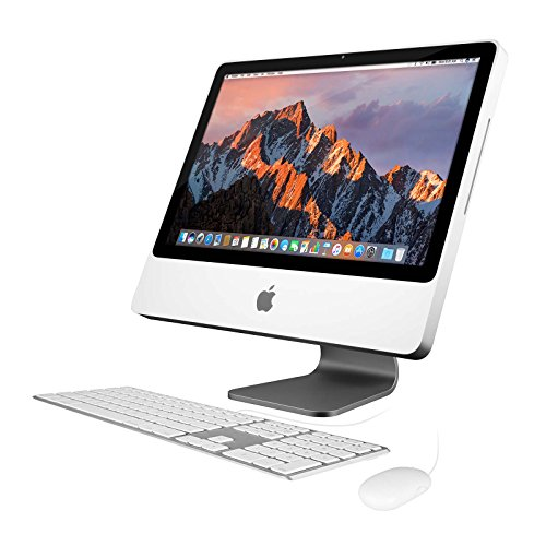 "Apple iMac MB417LL/A All-in-One Desktop Computer - 20"" Widescreen Display, Intel Core 2 Duo 2.66GHz, 320GB Hard Drive (Certified Refurbished)"