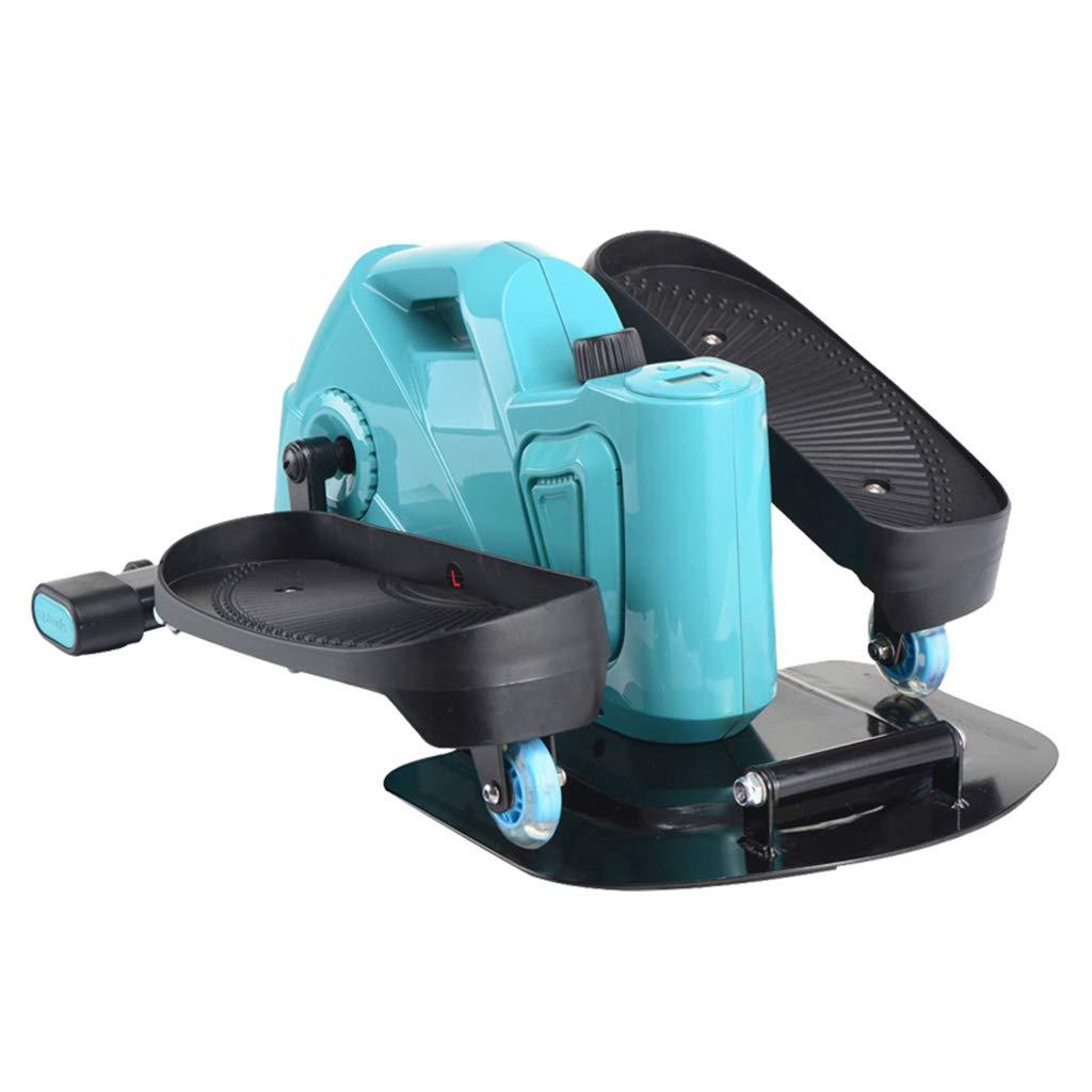 楕円ランニングペダル機、ホーム減量機、ミュート、ledカウント表示  Blue B07QGCKV4C