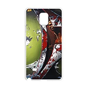 Happy Bloody horn special man Cell Phone Case for Samsung Galaxy Note4