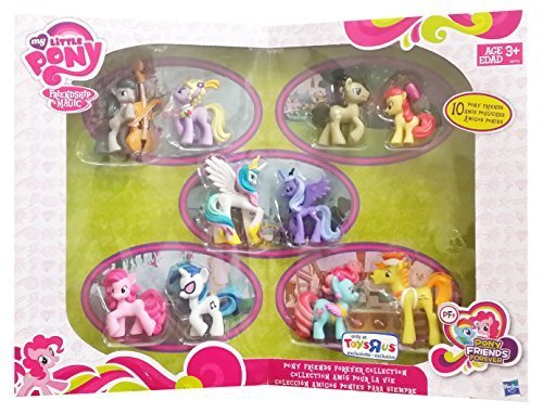 Little Princess Mini - My Little Pony Friendship is Magic Exclusive Mini Figure 10-Pack Pony Friends Forever Collection