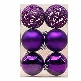 Best Creazydog Christmas Decorations - Creazy 6 pcs Christmas Xmas Tree Ball Bauble Review