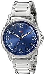 Tommy Hilfiger Women's 1781655 Casey Analog Display Japanese Quartz Silver Watch