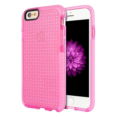 Dream Wireless Cell Phone Case for Apple iPhone 6/6S - Retail Packaging - Pink (Tinted Pink Case)