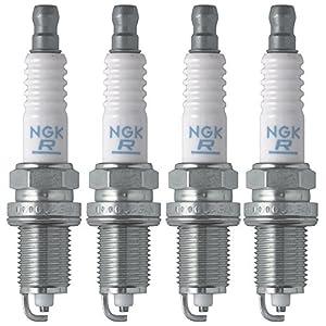 NGK (6953) BKR5E-11 V-Power Spark Plug (4 Pack)