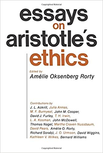 com essays on aristotle s ethics philosophical traditions  essays on aristotle s ethics philosophical traditions 0th edition