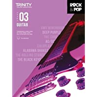 Trinity College London Rock & Pop 2018 Guitar Grade 3 CD Only (Trinity Rock & Pop)