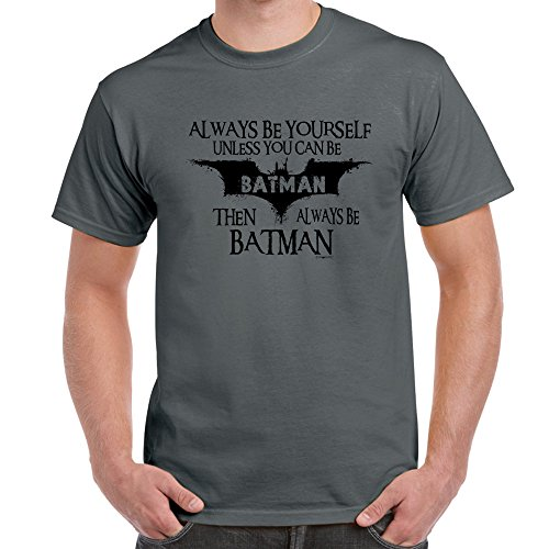 Starlite-Mens Funny T Shirts-Always Be Batman-funny tshirts-funny gifts