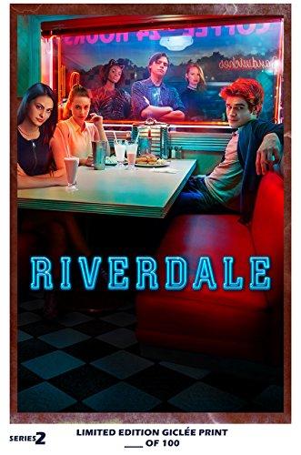 Rare Poster thick cole sprouse Riverdale tv 2017 kj apa Reprint #'d/100!