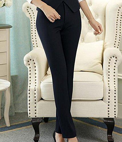 ビジネス作業服ユニフォーム_black pants_XL(????78cm)