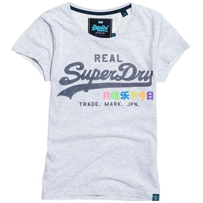 Camiseta Y Para Superdry Ropa Mujer Accesorios es Amazon wvFnwxq7d1