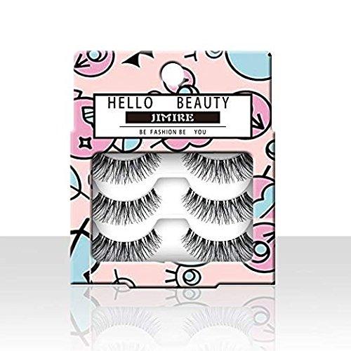 5f137132e98 JIMIRE False EyelashesDemi Lashes Multipack - Natural Wispies Dramatic  Glam Eyelashes 4 Packs - KAUF.COM is exciting!