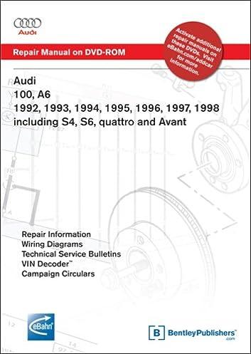audi 100 a6 1992 1993 1994 1995 1996 1997 1998 including s4 rh amazon com 1999 Audi S4 2008 Audi S4