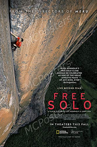 MCPosters - Free Solo Glossy Finish Movie Poster - MCP784 (24