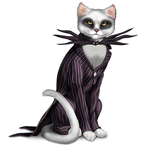 (The Hamilton Collection Disney Tim Burton's The Nightmare Before Christmas Jack Skellington Cat)