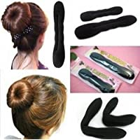 2pcs Hair Tool Styling Accessories Hair Magic Sponge Clip Foam Bun Curler Twist