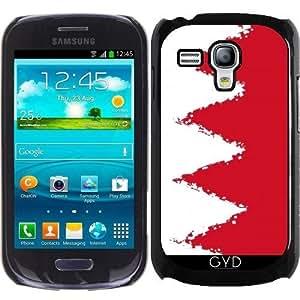 Funda para Samsung Galaxy S3 Mini (GT-I8190) - Bahrein FLAG- 8 Bits by Cadellin