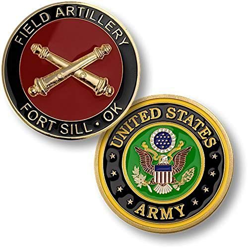 (U.S. Army Field Artillery, Fort Sill, OK Challenge Coin)