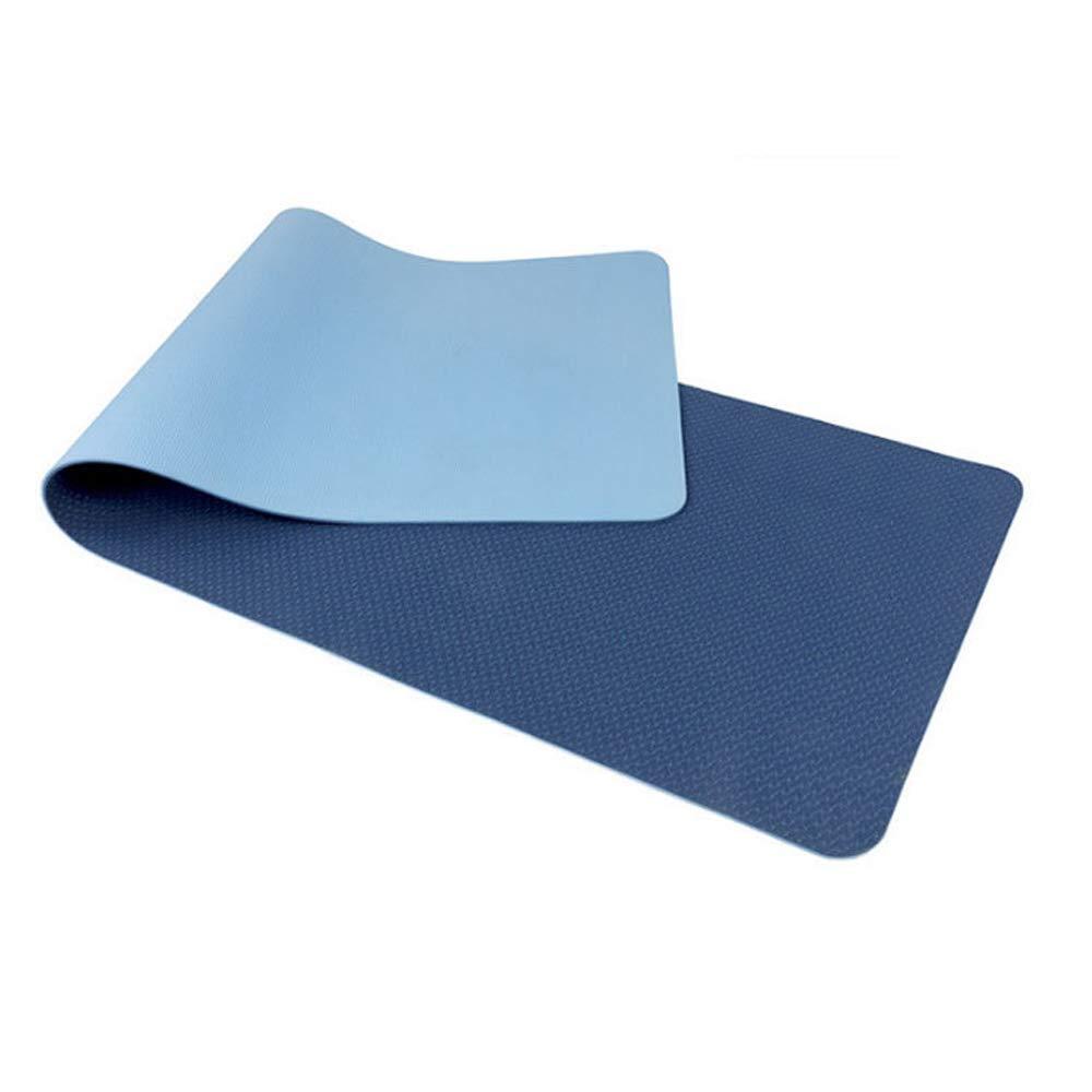 QJKai Verlängern Sie TPE Yogamatte Slip Anfänger Yogamatte Fitnessmatte