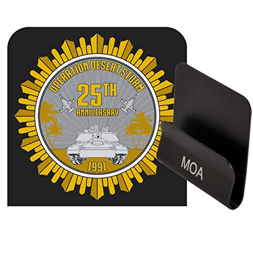 Medals of America Operation Desert Storm 25th Anniversary Officially Licensed Operator Clip Black