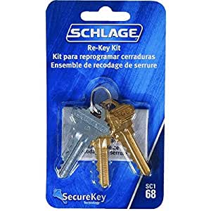 Securekey Re Key Kit Door Lock Replacement Parts